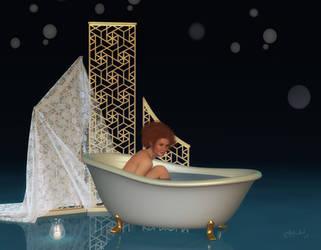 Bathtime by LadyNightVamp