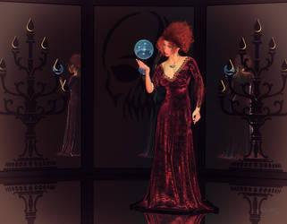 Blue Orb by LadyNightVamp