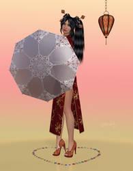 La Femme - Asian girl by LadyNightVamp