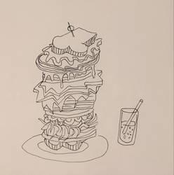 sandwich by onlygoodart