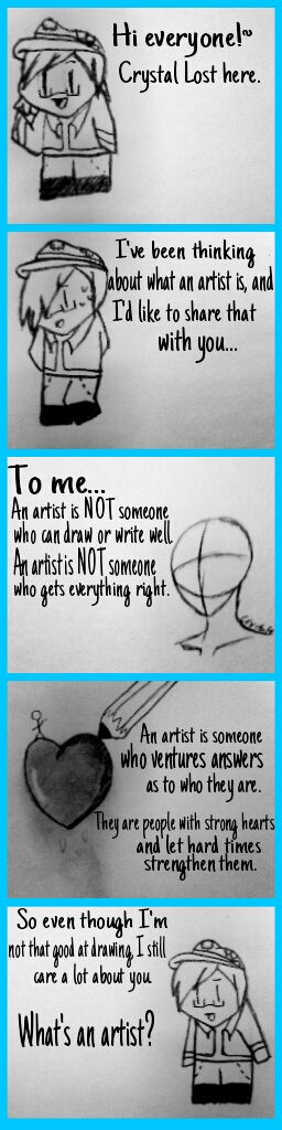 What's an Artist? by LostCrystal