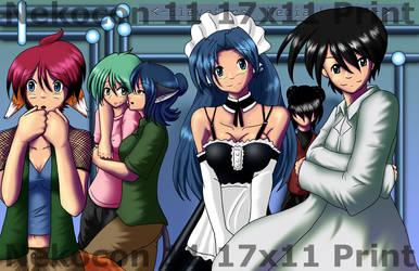 Nekocon 11 Poster-Shiden Group