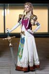 Princess Zelda by ivettepuig