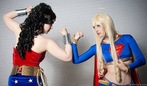 WW and Supergirl