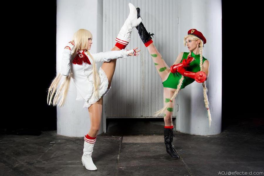 Lili VS Cammy by ivettepuig