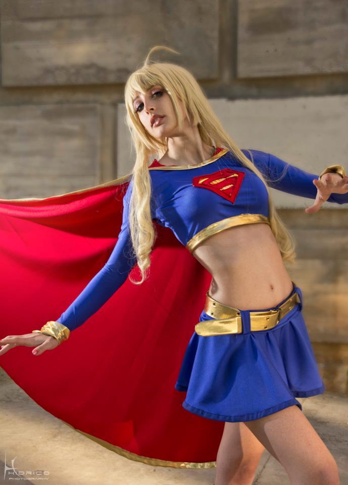 Supergirl by ivettepuig