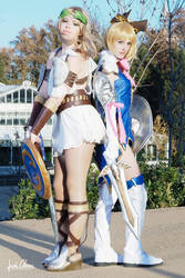 Sophitia and Cassandra