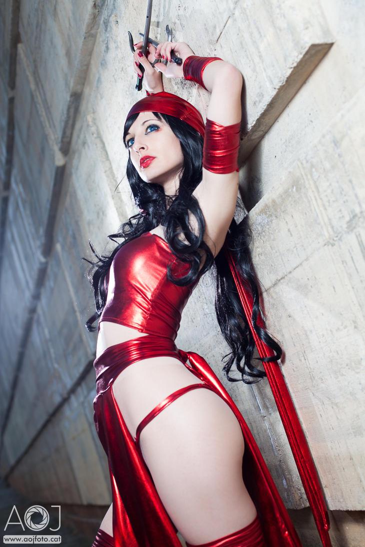 Elektra Marvel Shunya Yamashita version by ivettepuig