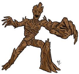 Groot by BeeBoyNYC