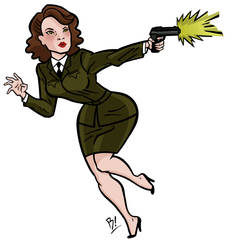 Peggy Carter by BeeBoyNYC