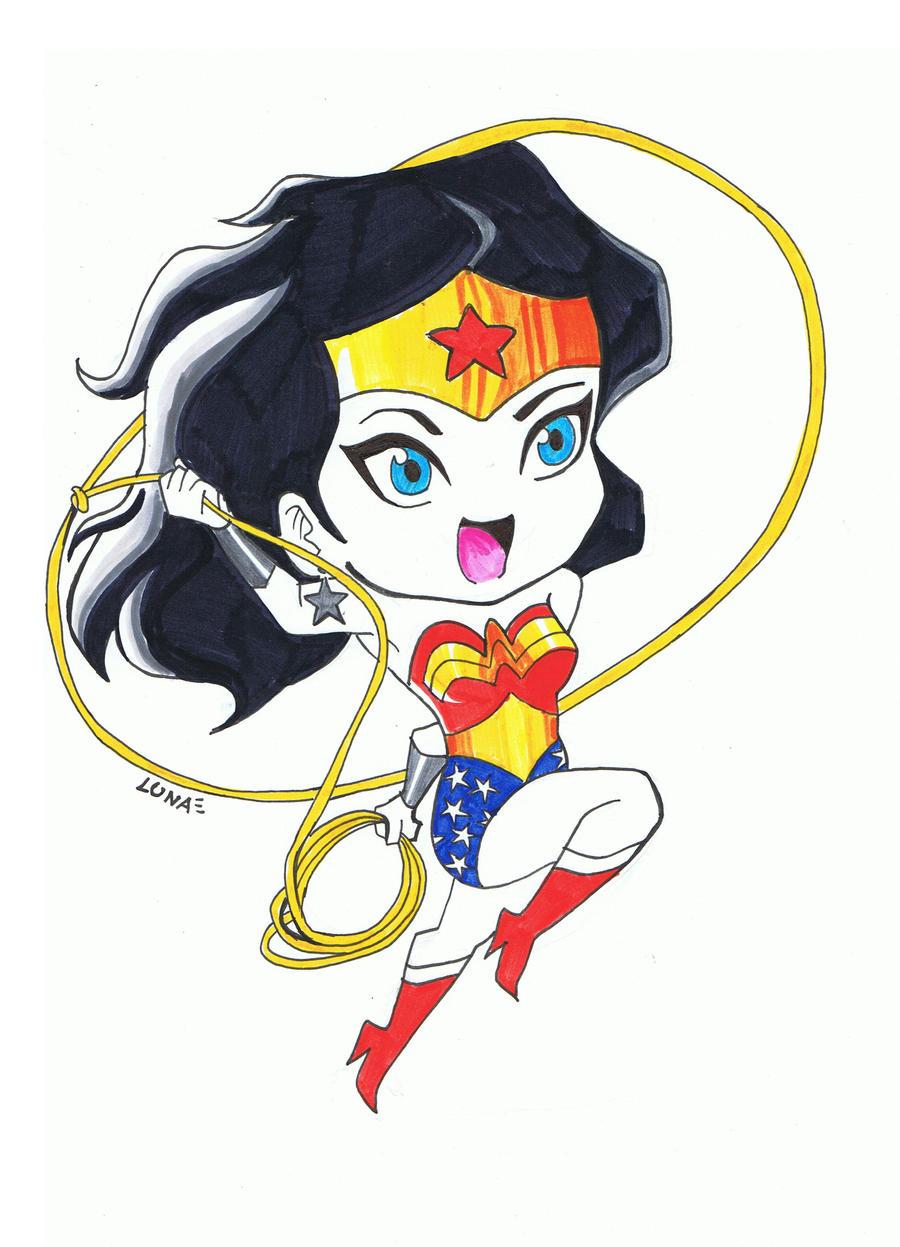 Chibi Wonder Woman by Dunya-lun-chan on DeviantArt