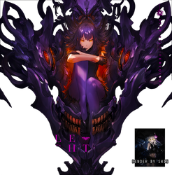 Random Anime Girl Render by Le-Ryuuji