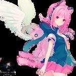 Anime Angel Girl Render