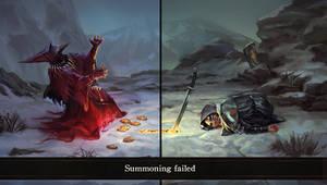 Summoning failed
