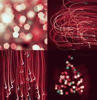 christmas lights. by julkusiowa