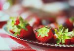 strawberries, cherries.