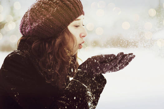blow the snow