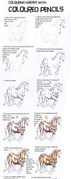 Coloured Pencil TUTORIAL by In-The-Distance