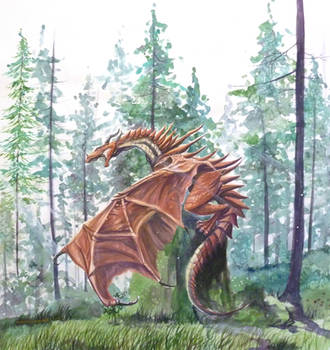 Daylight Dragon by In-The-Distance