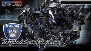 Transformers Barricade PSP