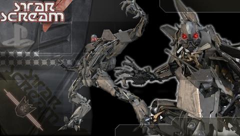 transformers starscream wallpaper. Transformers Starscream PSP by