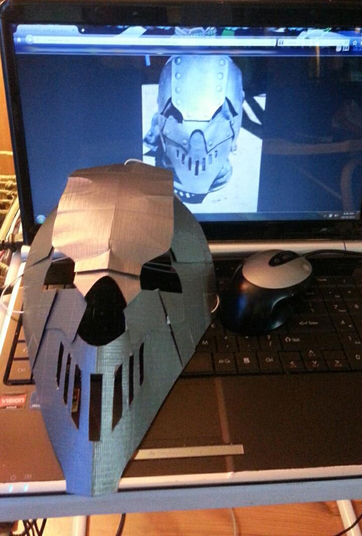 Mick Tape Mask by PyroDark