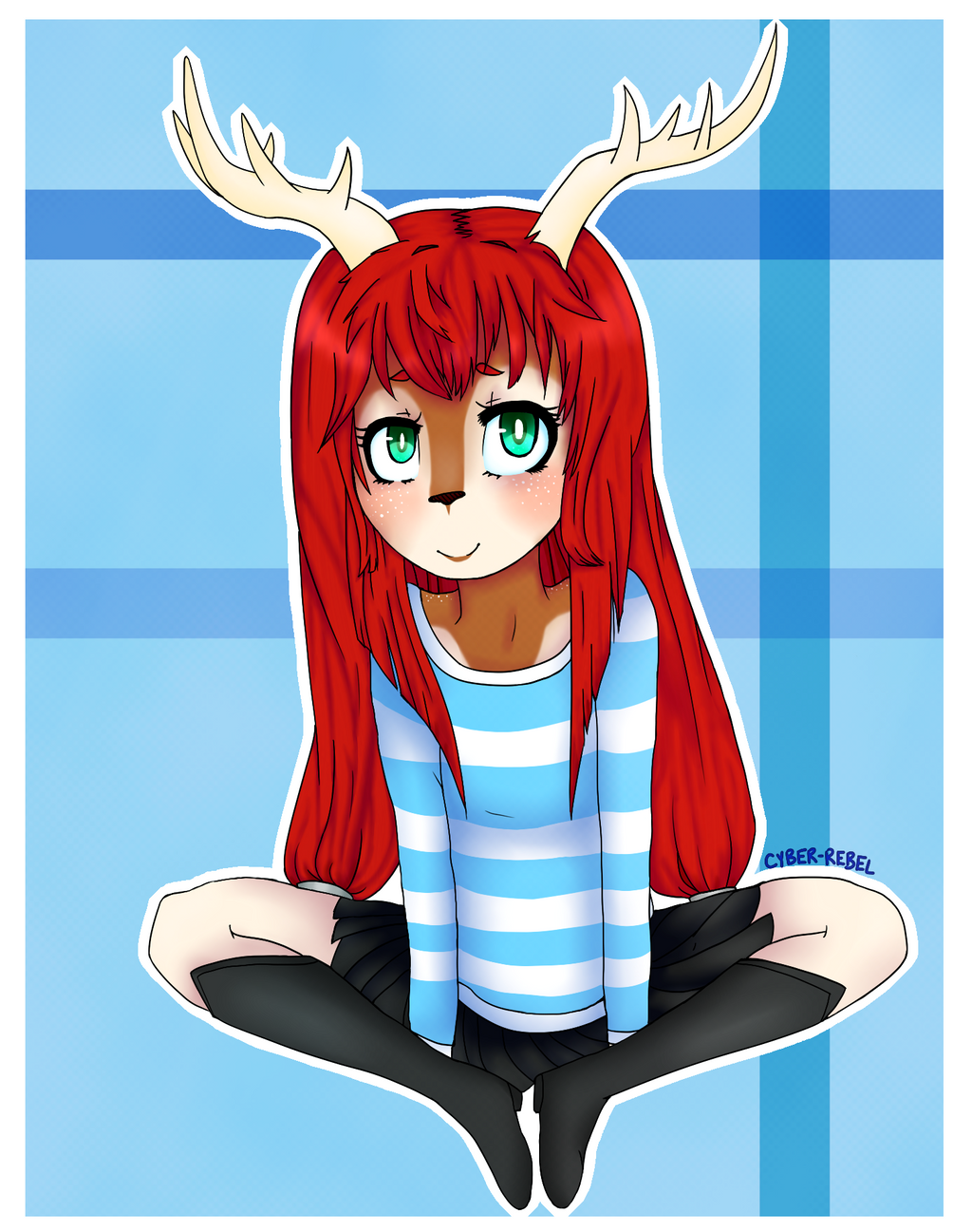 Wittle Faun Girlie by CYBER-REBEL