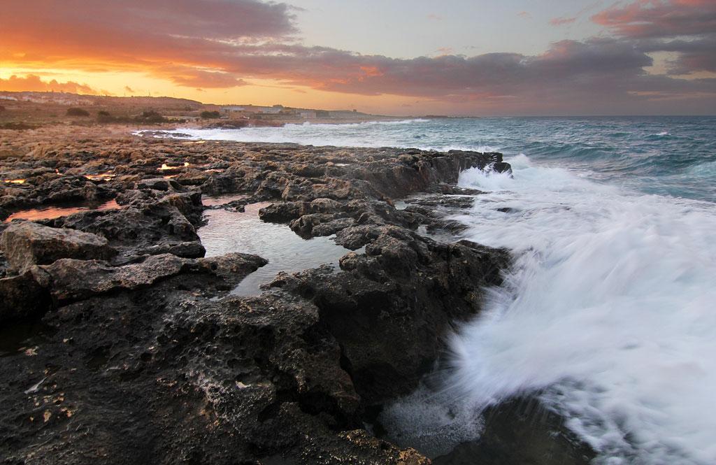 Splashy evening by Richiedude
