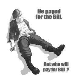 Bill Paid the Bill by sterna