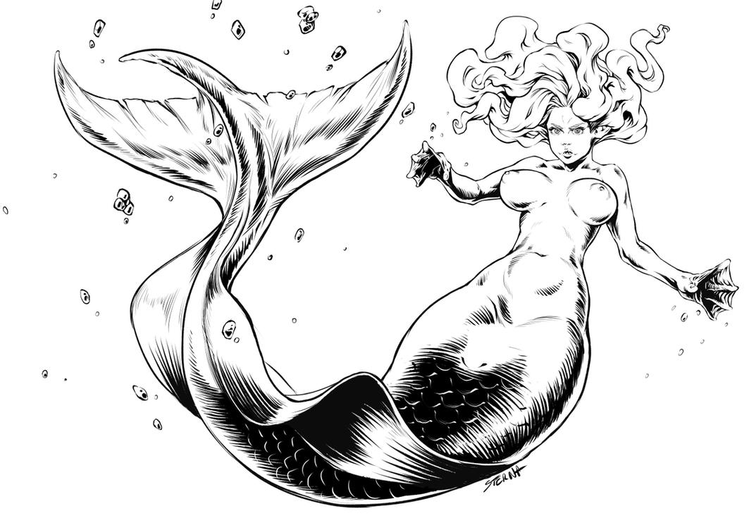 Mermaid by sterna