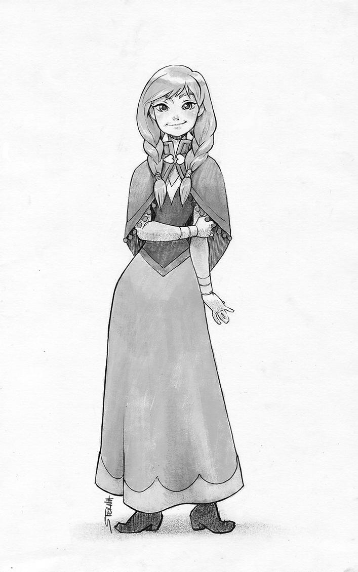 Anna - Frozen by sterna