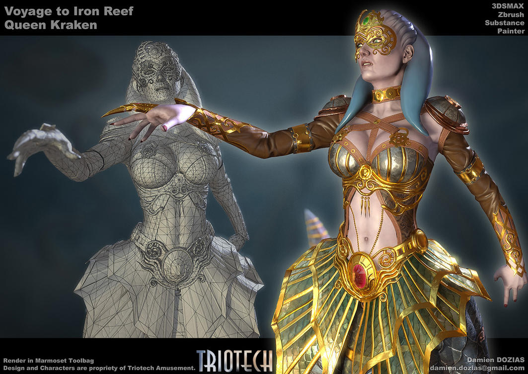 Queen Kraken CloseUp by sterna