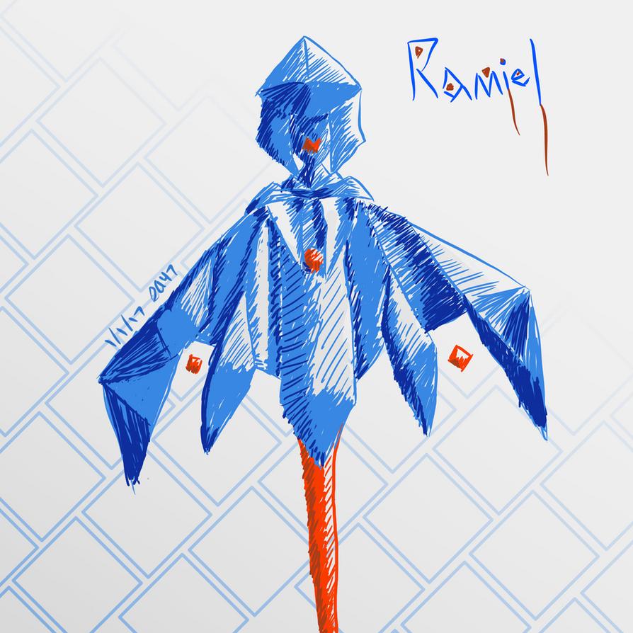 Ramiel gijinka... by Silveralchemy47