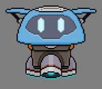 Overwatch Mei's Drone Pixel Art