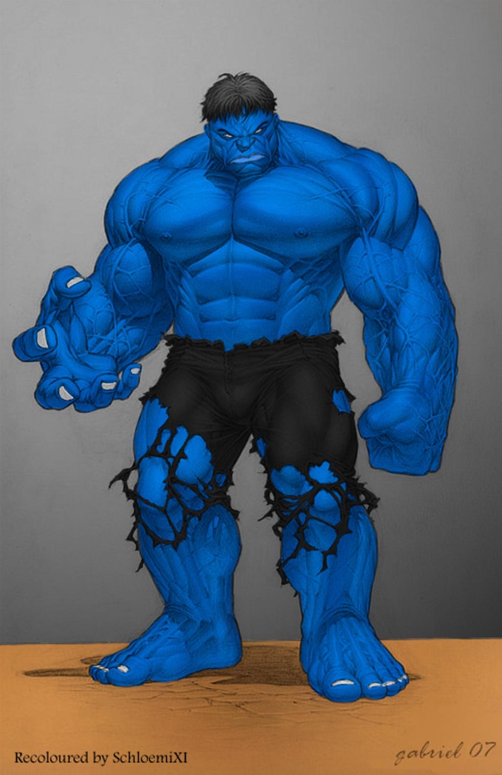 Image result for blue hulk