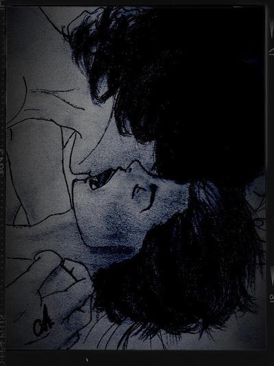 Larry Stylinson late night snog by Kushina-Uzumaki-II