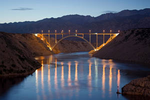 Maslenica Bridge by LillianEvill