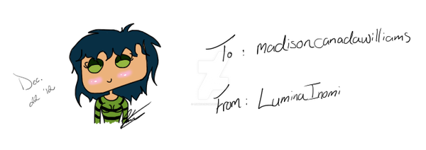 Lumi the Firefly - Gift by LuminaInomi