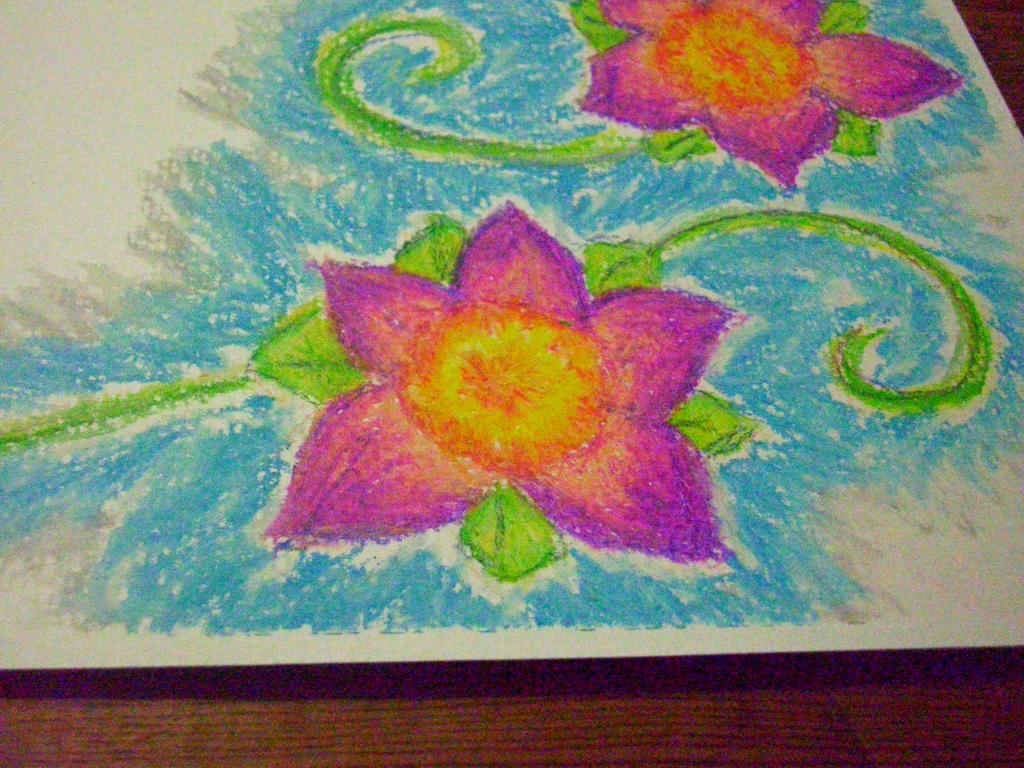Purple Flowers 2 by unshelvedgeek