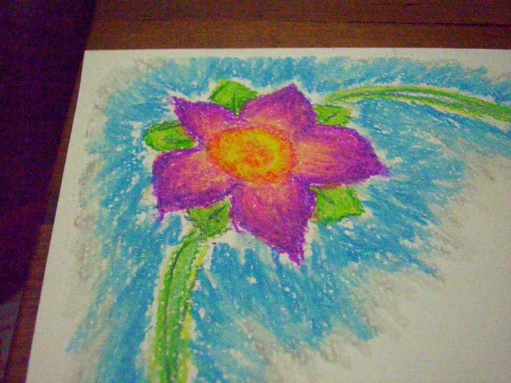 Purple Flowers 3 by unshelvedgeek