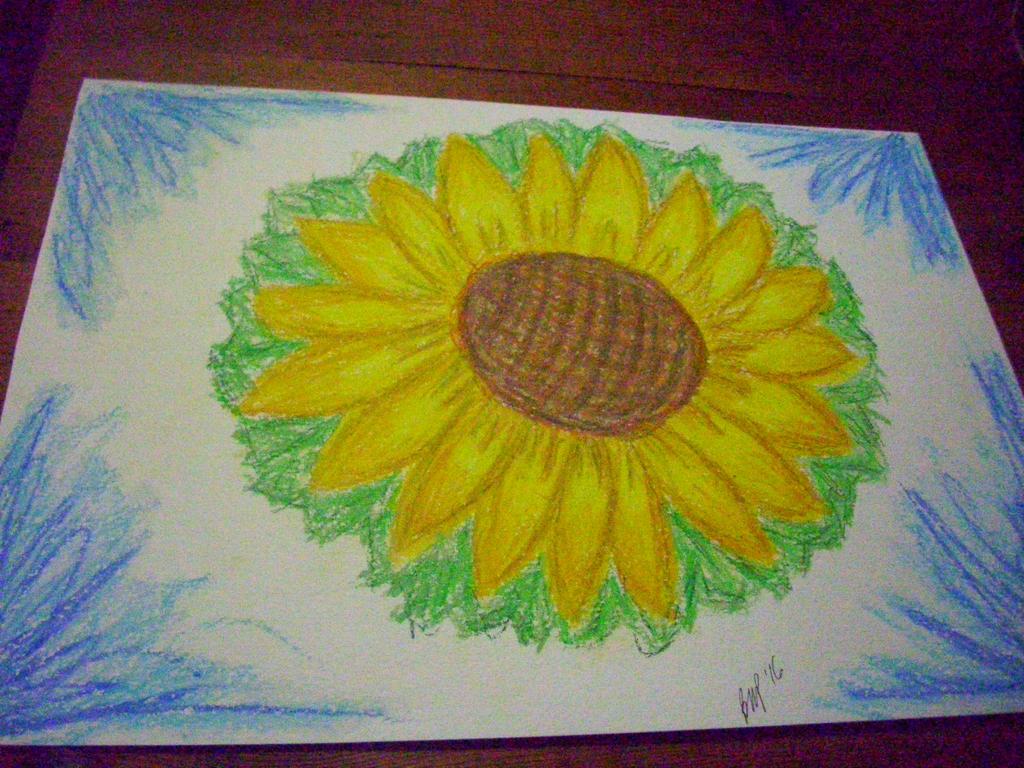 Sunflower by unshelvedgeek