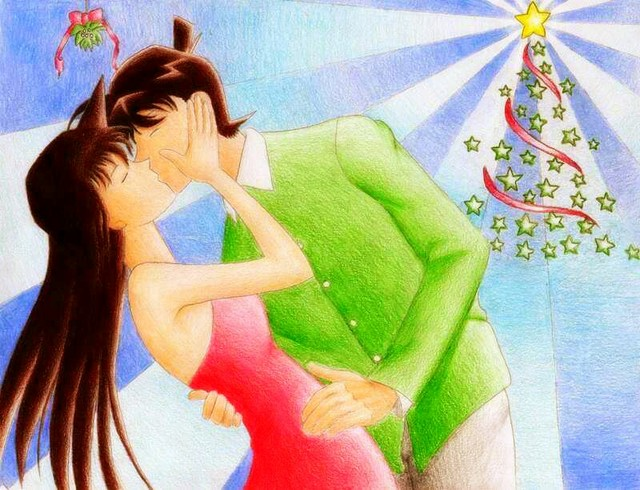 shinichi_and_ran_under_the_mistletoe_by_ajkun-d4jku5a.jpg