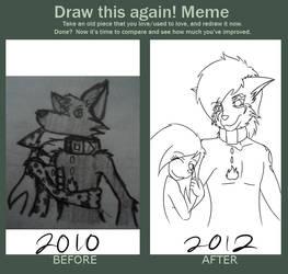 Draw that again by DarkFoxNinja