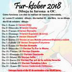 Listado Fur-inktober 2018 by FurrosLatinoamerica