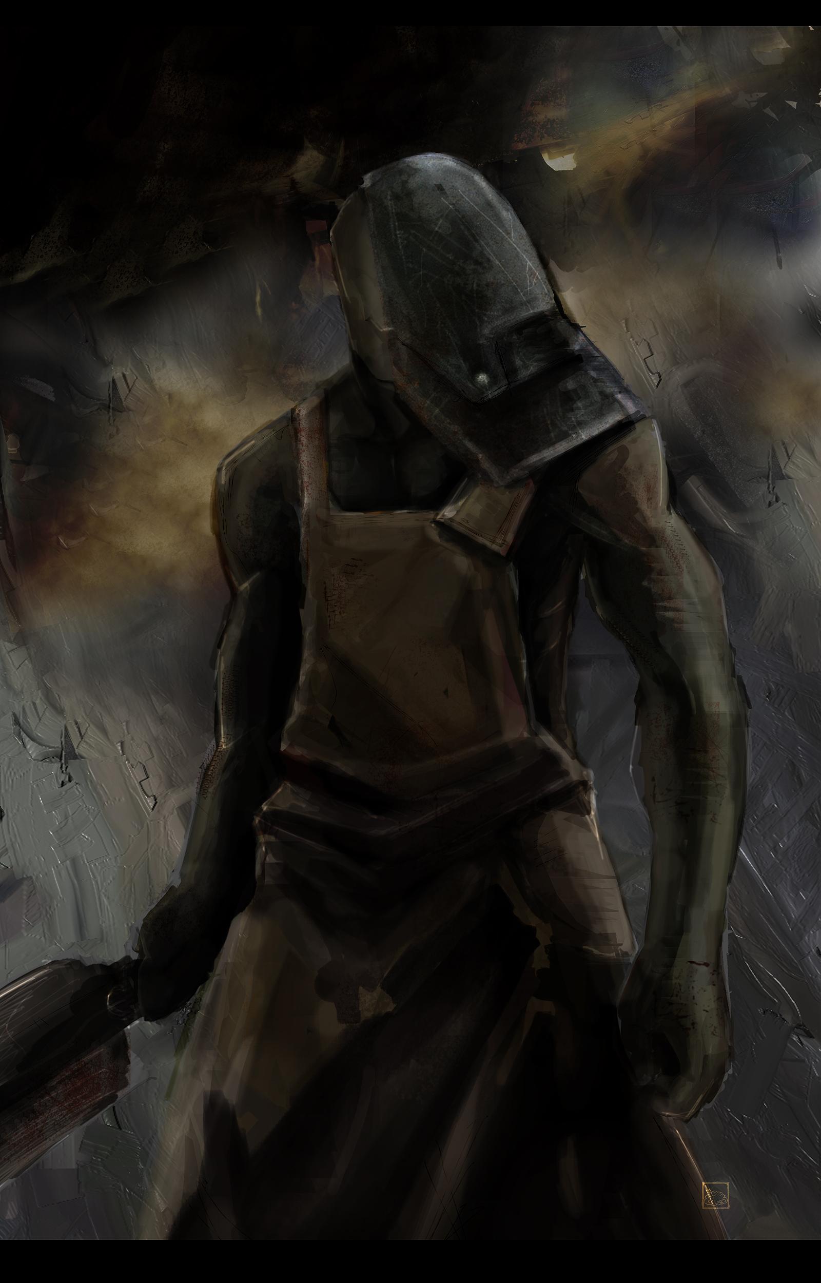 [Ideas] Enemigos de Silent Hill The_Butcher_by_bustercloud