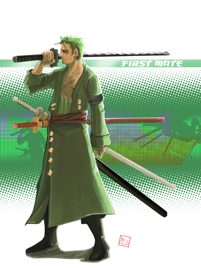 Zoro - 2 Y after by Zoro After 2 Years