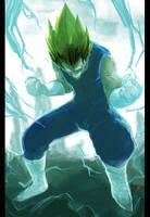 Super CYAN Vegeta by bustercloud