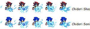 Sonic style chidori