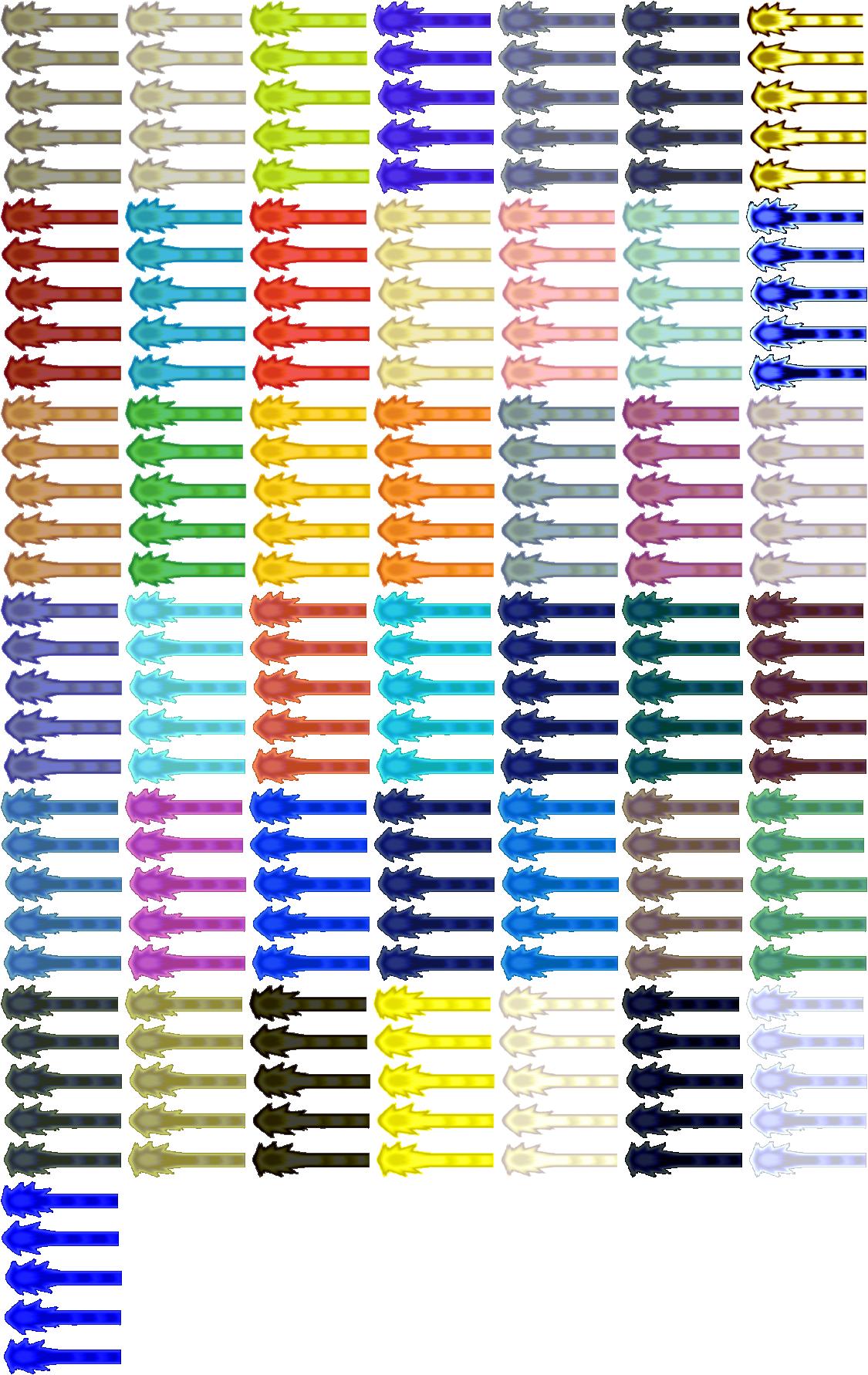 Kamehameha Wave Sprites By MyPicts On DeviantArt - 1125x1782 - png Ultra Ball Sprite