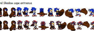 Sonic and Shadow cape entrence